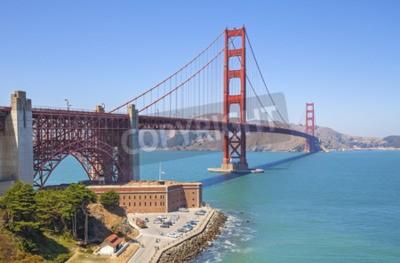 Fotomural Golden Gate Bridge em San Francisco, EUA.