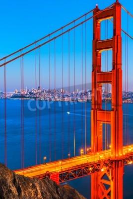 Fotomural Golden Gate Bridge, São Francisco, Califórnia, EUA.