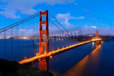 Fotomural Golden Gate, San Francisco, Califórnia