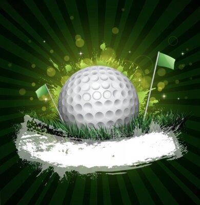 Fotomural golf banner