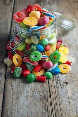 Fotomural Goma de doce colorida