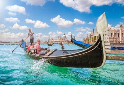 Fotomural Gôndola, canal, grandioso, veneza, itália