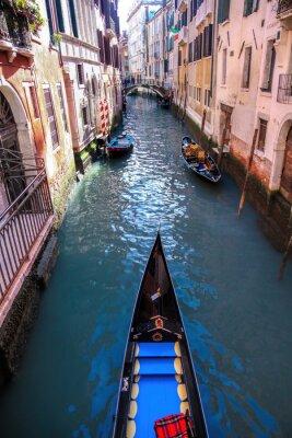 Fotomural Gôndola, canal, veneza, itália