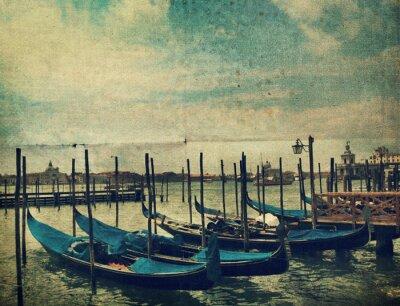 Fotomural Gondola. Veneza