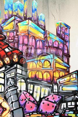 Fotomural Graffiti - Street art
