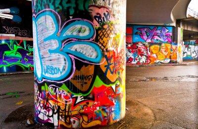 Fotomural Graffitti Wall