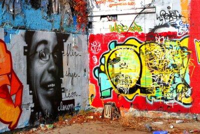 Fotomural grafite: Fundo