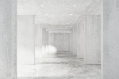 Fotomural Grande loft vazio