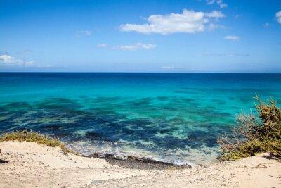 Fotomural Grandes Playas de Corralejo em Fuerteventura, Ilhas Canárias, Espanha