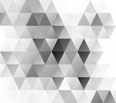 Fotomural Gray Grid Mosaic Background, Creative Design Templates