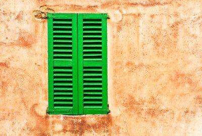 Fotomural Green Living Persianas Hauswand Mediterrâneo