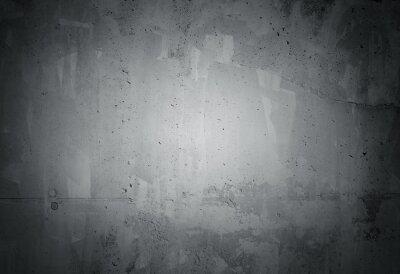 Fotomural Grunge preto resistido textura da parede de concreto