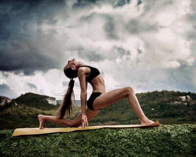 Fotomural Guerreiro pose da ioga