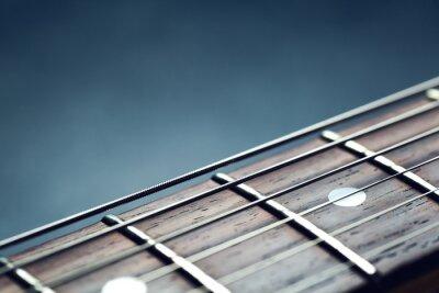 Fotomural Guitarra closeup pescoço