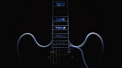 Fotomural Guitarra elétrica abstrata