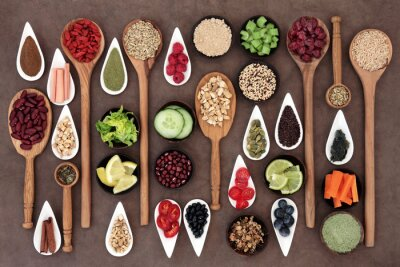 Fotomural Health Food Sampler