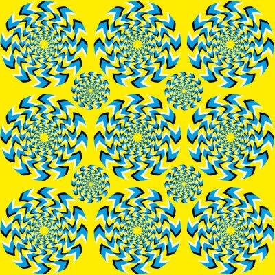 Fotomural Hipnótico de rotação