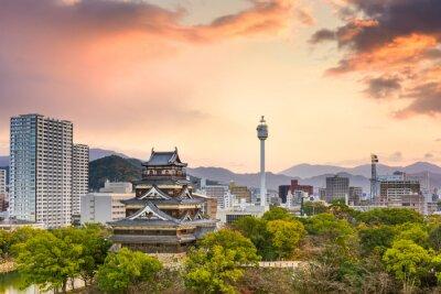 Fotomural Hiroshima Japão Cityscape