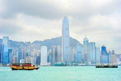 Fotomural Hong Kong balsa