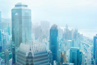Fotomural Hong Kong centro de negócios