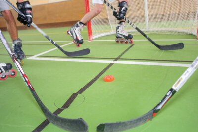 Fotomural Hóquei em patins