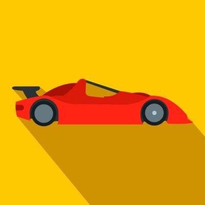 Fotomural Ícone de carro de corrida
