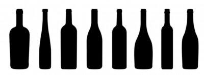 Fotomural Ícones de Weinflaschen