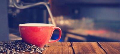 Fotomural Imagem composta da caneca de café branca