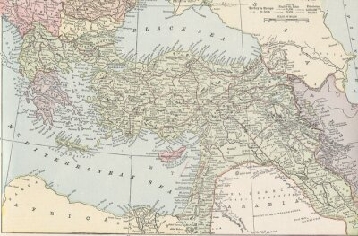 Fotomural Império turco vintage