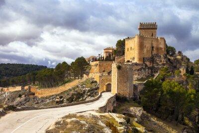Fotomural Impressionante castelo medieval Alarcon, Espanha