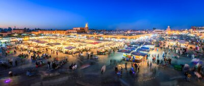 Fotomural Jemaa El Fna, Marrakesh