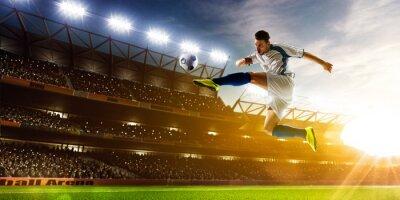Fotomural Jogador de futebol na ação