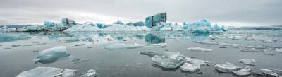 Fotomural Jokulsarlon, lagoa de geleira, Islândia