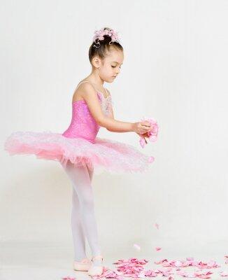 Fotomural jovem bailarina