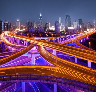 Fotomural Kreuzung em Xangai