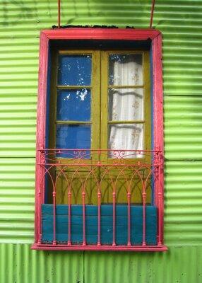 Fotomural La Boca, em Buenos Aires