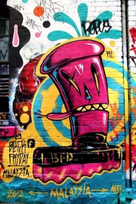 Fotomural LA rua, Melbourne