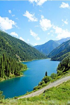 Fotomural Lago de montanha