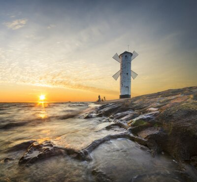 Fotomural Latarnia morska