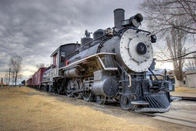 Fotomural Leis de trem