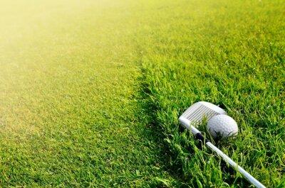 Fotomural Let's golf