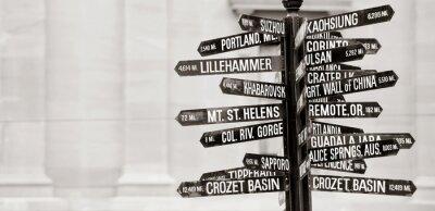 Fotomural Letreiro famoso de marcos em Portland, Oregon