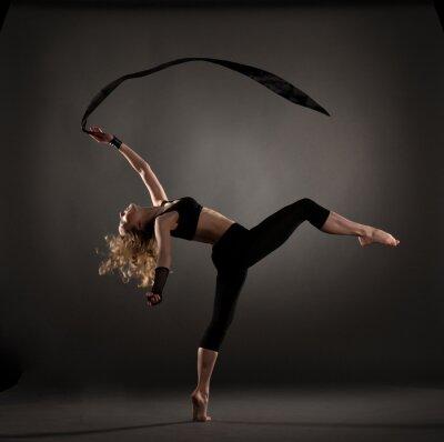 Fotomural linda dançarina de balé