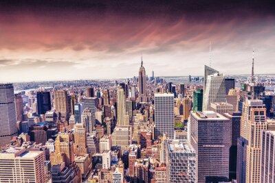 Fotomural Linda vista para New York City skyline
