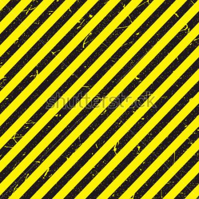 Fotomural Linha amarela e preta com textura.