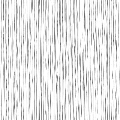 Fotomural Linhas verticais Teste padrão sem emenda desenhado mão