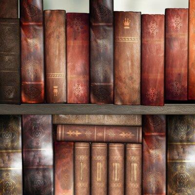 Fotomural Livros velhos, biblioteca