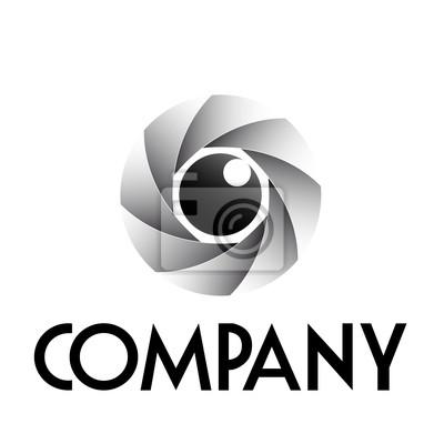 Logo Diafragma E Eye Vector Fotomural Fotomurais Brasão Espião