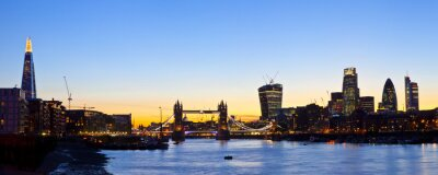 Fotomural London Skyline Panoramic