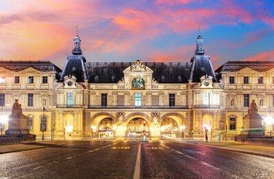 Fotomural  Louvre Museum in Paris at sunrise, France